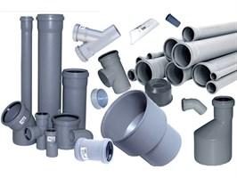Трубы канализационные, соединительные детали и изделия