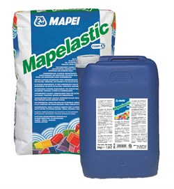 Гидроизоляция двухкомпонентная Мапей Мапеластик (Mapelastic Mapei) - фото 5137