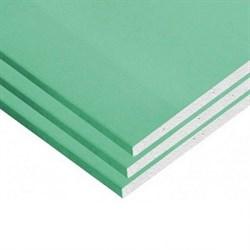 Гипсокартонный лист (ГКЛ) Магма ПлСтВ влагостойкий 2500х1200х12.5мм - фото 5681
