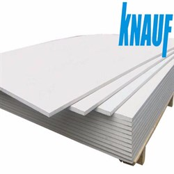 Гипсоволокнистый лист (ГВЛ) KNAUF суперлист влагостойкий 2500х1200х10мм - фото 5687