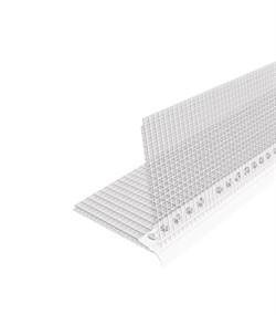Профиль углозащитный (пластиковый, с сеткой из стекловолокна) 100х150 мм, 3 м - фото 5734