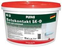 Пуфас Betokontakt БК грунт адгезионный для внутренних работ, 15 кг - фото 5815