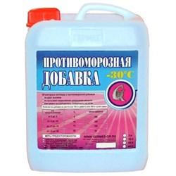 Добавка противоморозная Гермес для работ при низких температурах с пластифицирующим эффектом 10 л - фото 5873