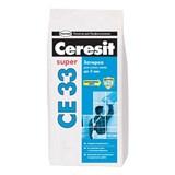 Затирка для узких швов Ceresit CE-33 белая 5 кг
