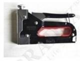 Степлер мебельный STAPLE GUN для скоб тип : 4—14мм  Степлер изготовлен из металла, хромирован. Пружинный ударный механизм с поглощающей резиновой вставкой для смягчения удара на руку.