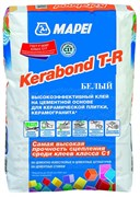 Клей для плитки Mapei Kerabond T-R белый, 25 кг