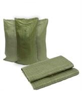 Мешок зеленый полипропиленовый 50*90см