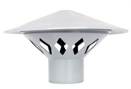Зонт РР-Н вентиляционный серый ДН 110 б/нап