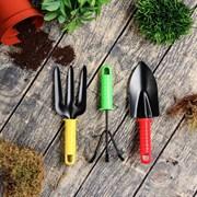 Садовый набор(совок, вилка, рыхлитель)