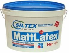 Краска латексная супербелая Mattlatex 14 кг