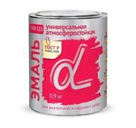 Эмаль Пф-115 Альфа серая, 0,9кг