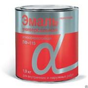 Эмаль Пф-115 Альфа серая, 1,9кг